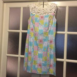 Horoscope printed Lilly Pulitzer dress